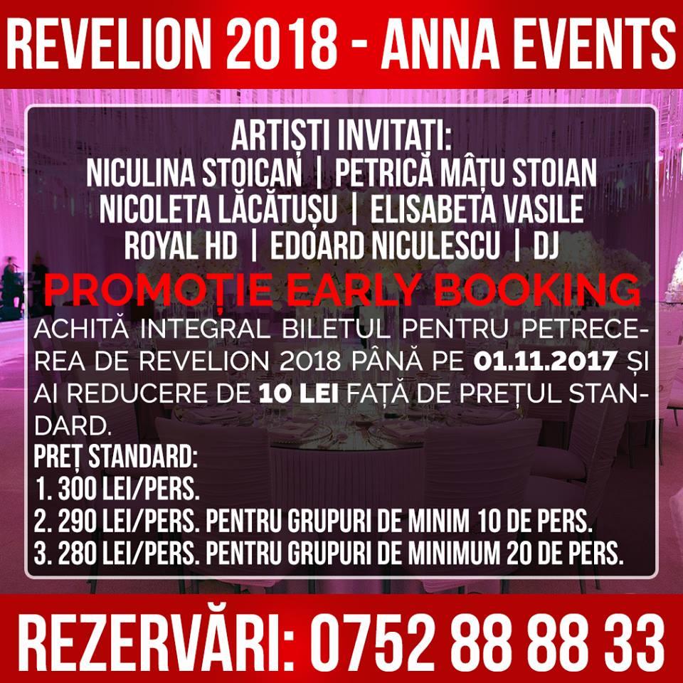 revelion 2018 anna events